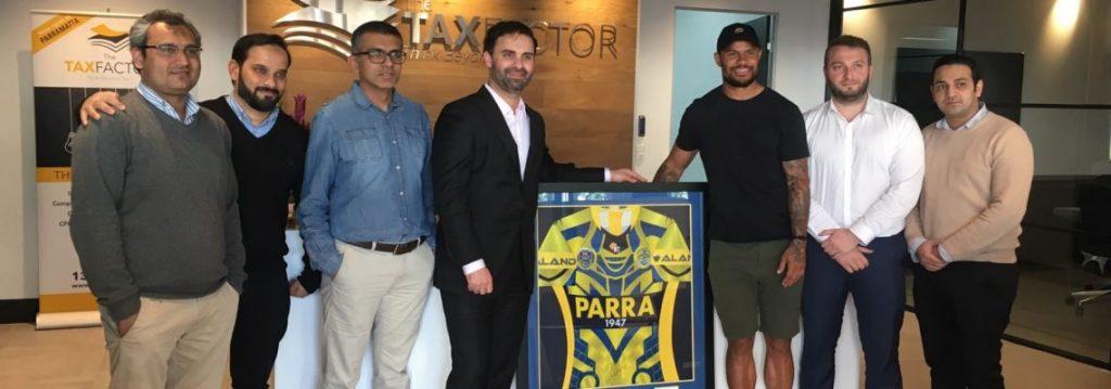 We Are Proud To Sponsor Parramatta Eels The Tax Factor